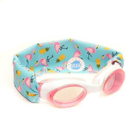SPLASH- Flamingo Island Swim Goggles