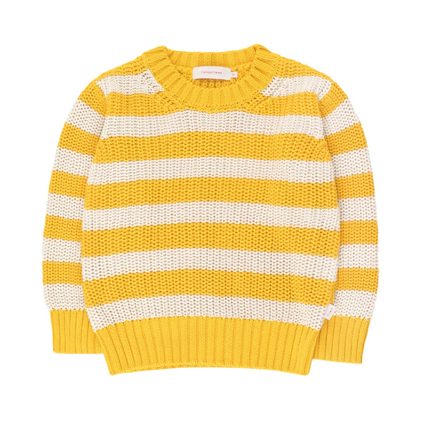 TINYCOTTONS - Stripes Sweater - YELLOW