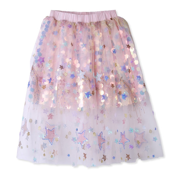 STELLA COVE - Sequined Tulle Party Skirt
