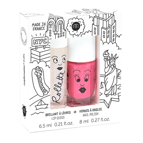 "NAILMATIC - ""New York"" Rollette & Nail Polish Duo Set"