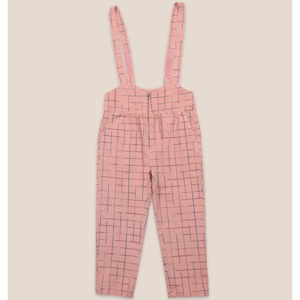 "BOBO CHOSES -""Catalogue of Marvelous Trades"" - Grid Braces Pants"