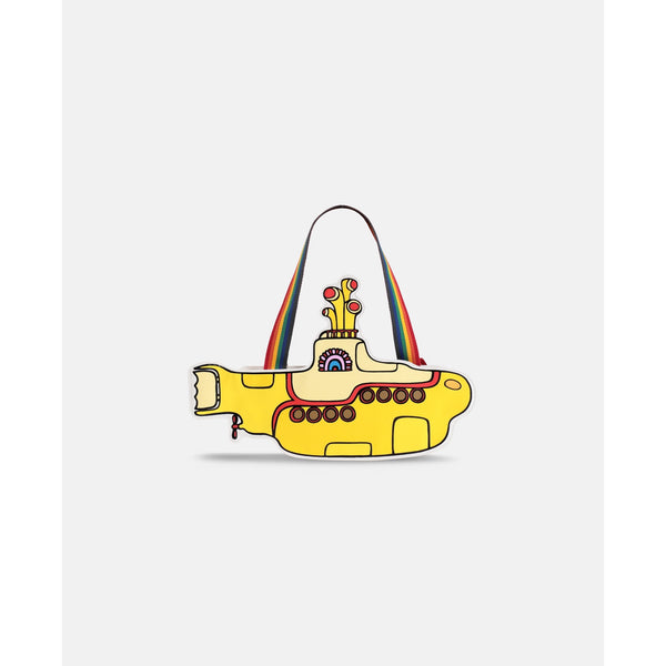 STELLA MCCARTNEY KIDS - Yellow Submarine Bag with Rainbow Straps