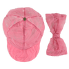 "CAROLINE BOSMANS - ""LIFE IS NOT BETTER IN PYJAMAS"" - Bow Cap - TULLE PINK"