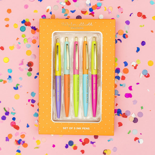 TAYLOR ELLIOTT DESIGNS - Complimentary Colored Ink Pen Set