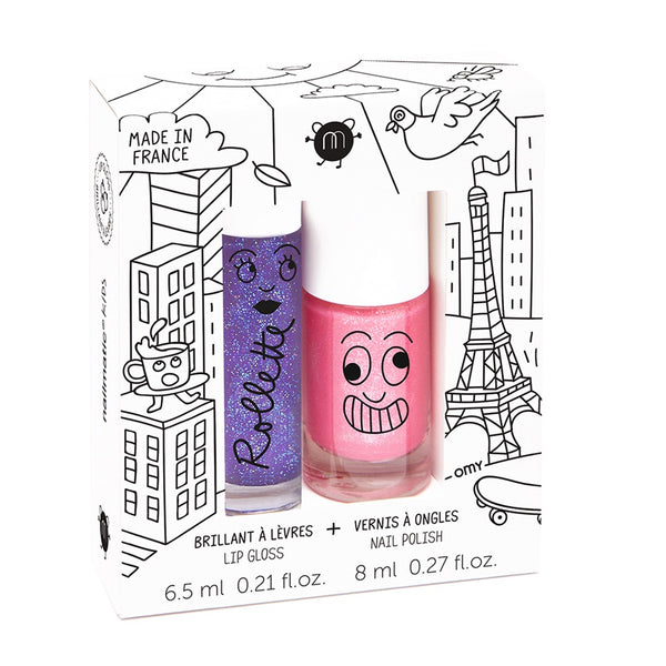 "NAILMATIC - ""Lovely City"" Rollette & Nail Polish Duo Set"