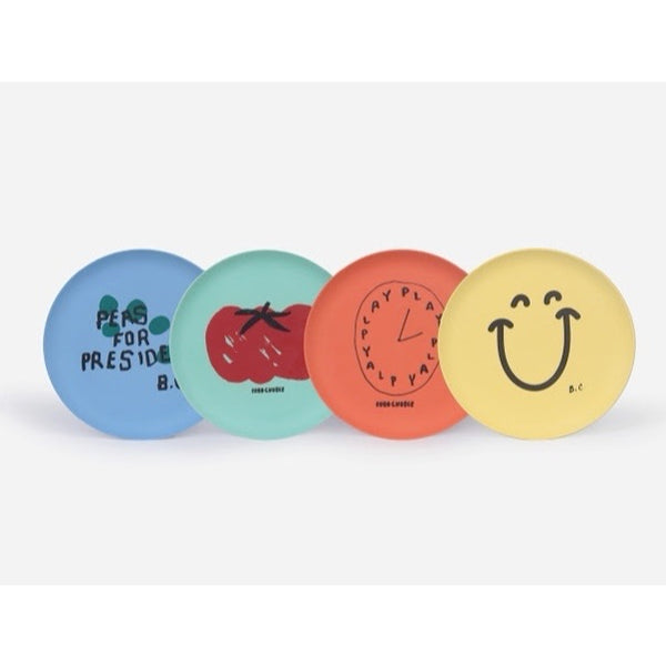 BOBO CHOSES - For President Bamboo Plates (Pack of 4)