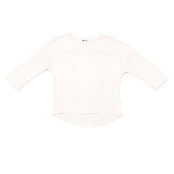 OMAMImini - Long Sleeve Tee w/ Yoke Detail