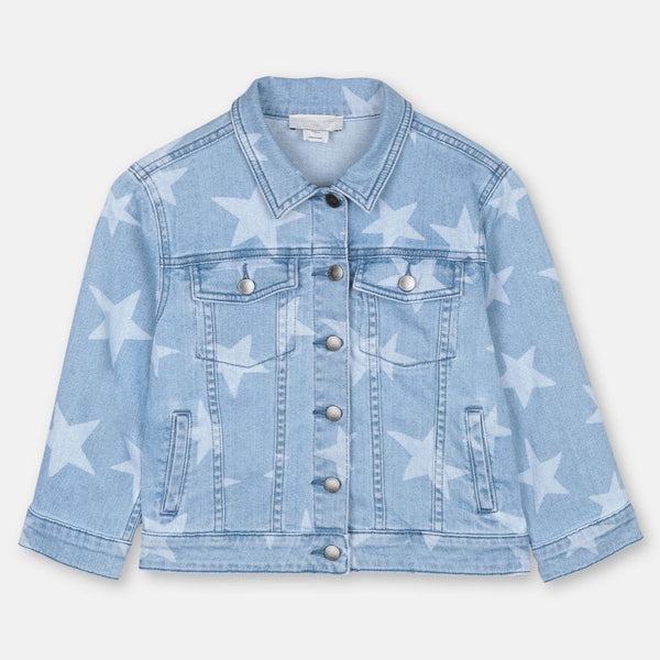 STELLA MCCARTNEY KIDS - Stars Denim Jacket