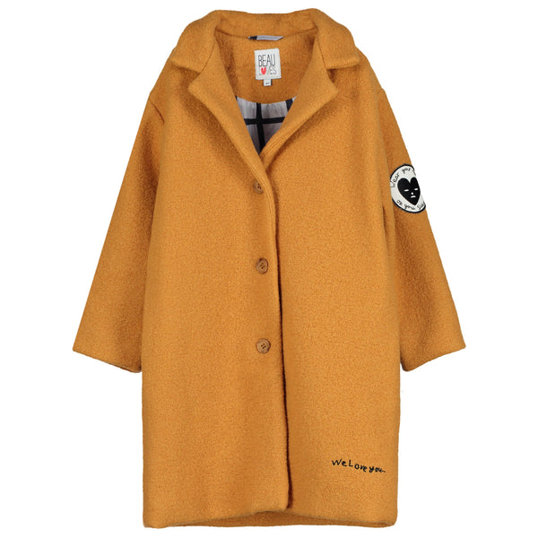 BEAU LOVES - Grip Wool Coat