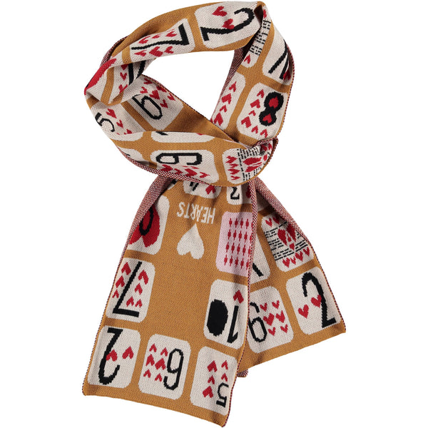 BEAU LOVES - Game of Hearts Knit Scarf