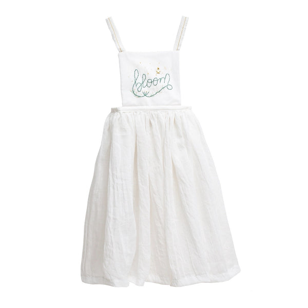 COSMOSOPHIE - Bloom Apron - MUSOLA WHITE/GREEN
