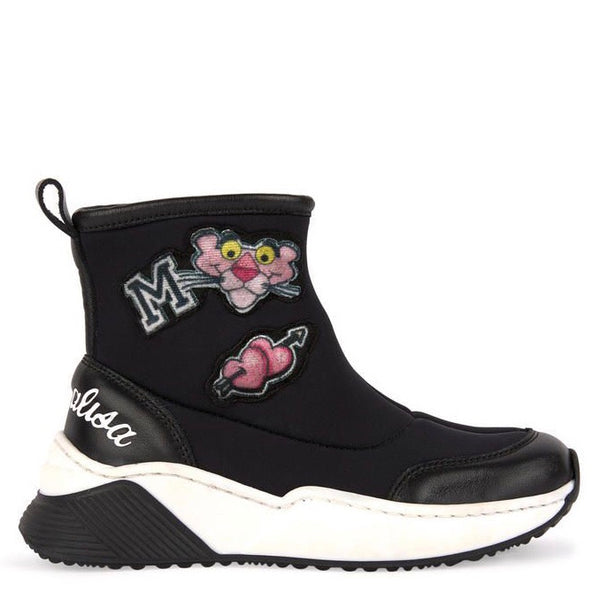 MONNALISA - Neoprene Pink Panther High Tops