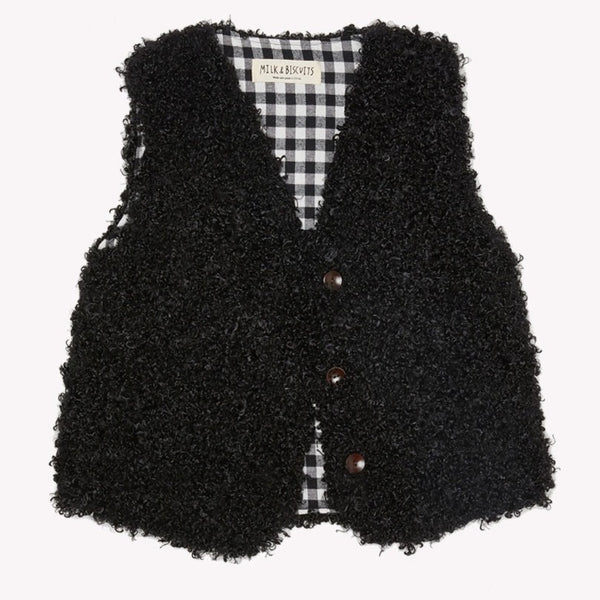 MILK & BISCUITS - Faux Fur Gilet
