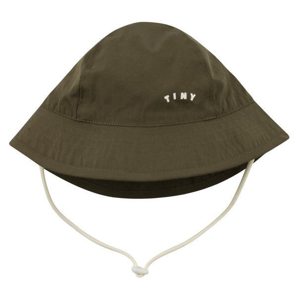 TINYCOTTONS - Tiny Solid Bucket Hat - GREEN
