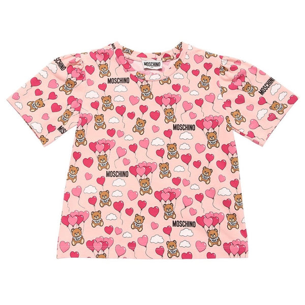 MOSCHINO -  All Over Print T-Shirt