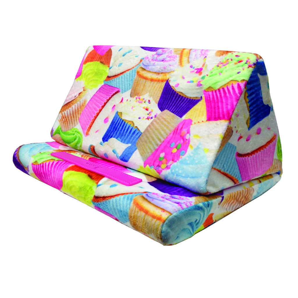"iSCREAM - ""Cupcakes"" Soft Fleece Tablet Pillow"