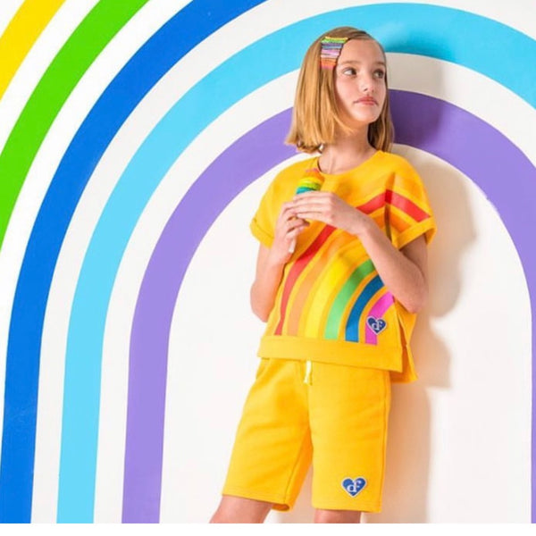 AIRFISH - Rainbow Two-Piece Shorts Set