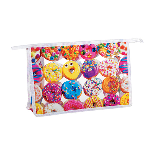 "iSCREAM - ""Assorted Donuts"" Clear Travel Bag"