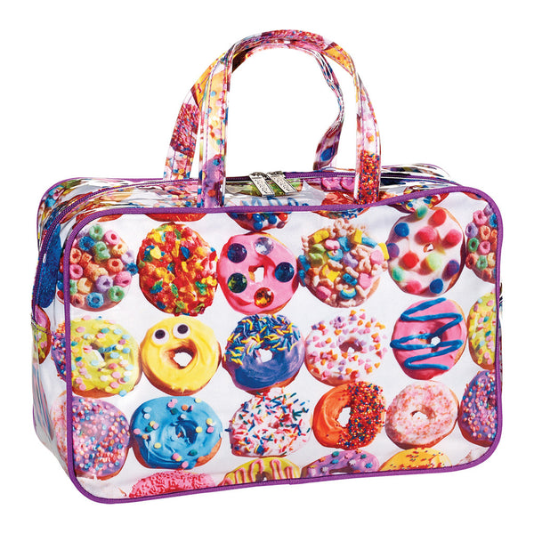 "iSCREAM - ""Assorted Donuts"" Large Cosmetics Bag"