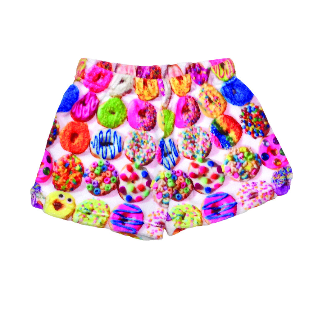"iSCREAM - ""Donuts"" Plush Shorts"