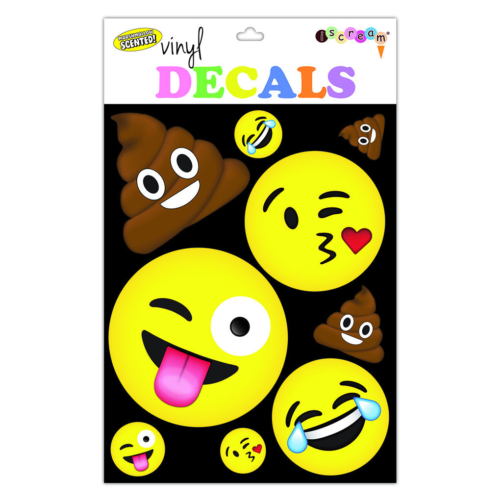 "iSCREAM - ""Emojis"" Large Vinyl Decals"
