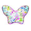 iSCREAM - Fantasy Fairy Wings Pillow with Pink Fleece Back