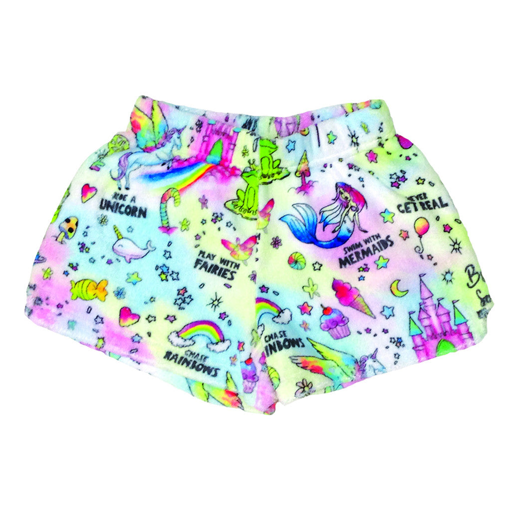 "iSCREAM - ""Fantasy"" Plush Shorts"