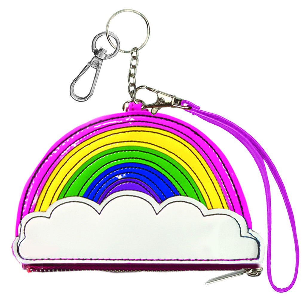 "iSCREAM - ""Rainbow"" Purse Keychain"