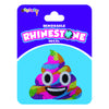 "iSCREAM - ""Rainbow Unicorn Poop"" Brightly Colored Decal with Rhinestones"