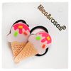 "LILIES & ROSES NY - ""Ice Cream"" Acrylic Ponytail Holders"