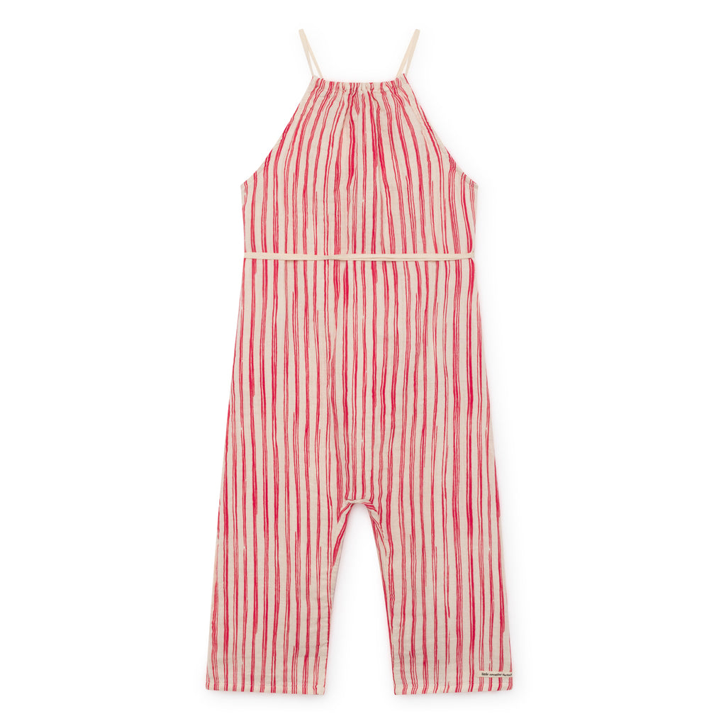 LITTLE CREATIVE FACTORY - Bamboo Striped Jumpsuit