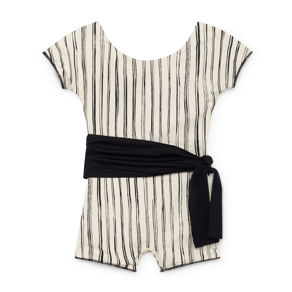 LITTLE CREATIVE FACTORY - PRE-ORDER - Bamboo Striped Retro Bathing Suit