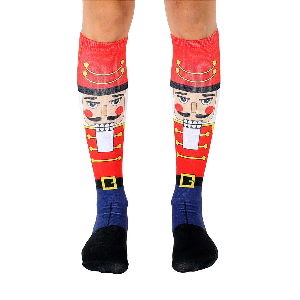 "LIVING ROYAL - ""Nutcracker"" Knee High Socks"