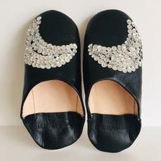 "LE TOIT DE LA LUNE - ""Opera"" Leather Slippers"