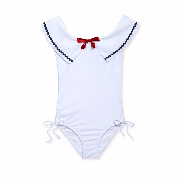 STELLA COVE - Sailor Ruffle One-Piece Swimsuit