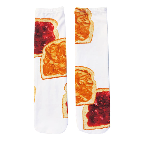 "ROMEY LOVES LULU - ""PB&J"" Socks"