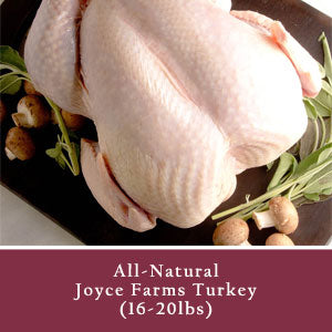 Turkey, All-Natural (16-20lbs)