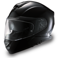 Daytona Detour Full Face Helmet Gloss Black