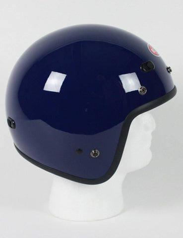 Dot Three Quarter Helmet Blue