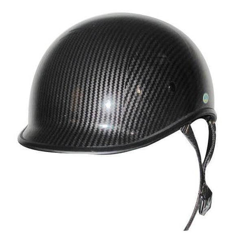 Dot Carbon Look Polo Motorcycle Helmet