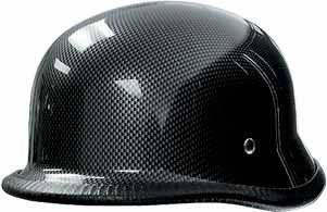 Carbon Look Shorty Novelty Helmet