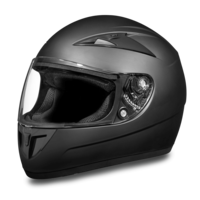 Daytona Detour Full Face Helmet Dull Black
