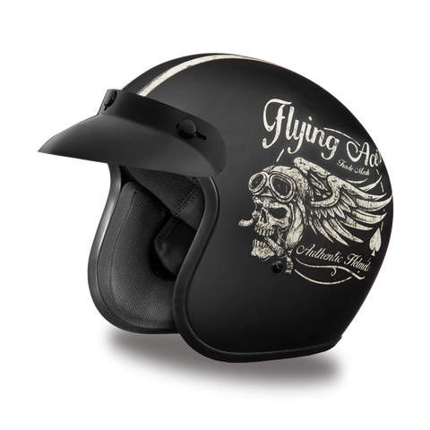 Daytona Cruiser 3/4 Helmet Flying Aces