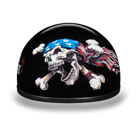 Daytona Skull Cap w/Patriot