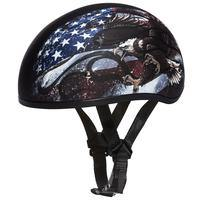 Dot Skull Cap W/USA