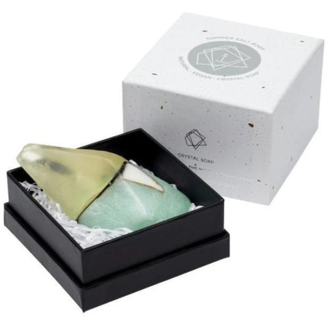 Aquamarine Crystal Soap - Summer & Salt