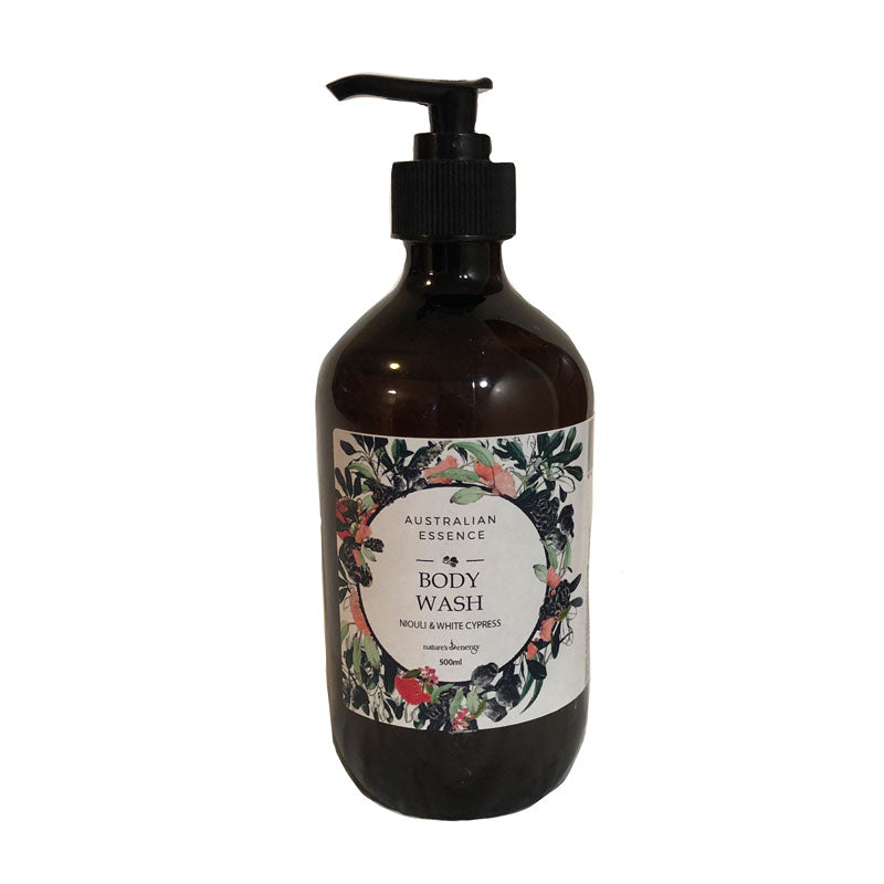 Australian Essence - Niouli & White Cypress Body Wash