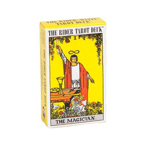 Standard Rider Waite Deck (Yellow)
