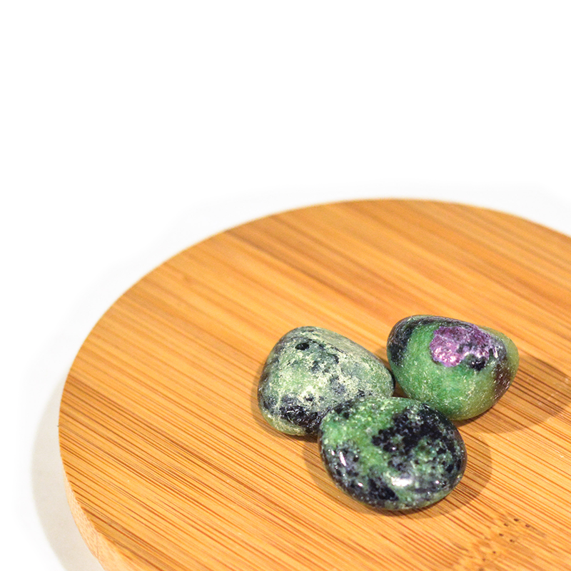 Load image into Gallery viewer, Tumble Stones - Ruby Ziosite