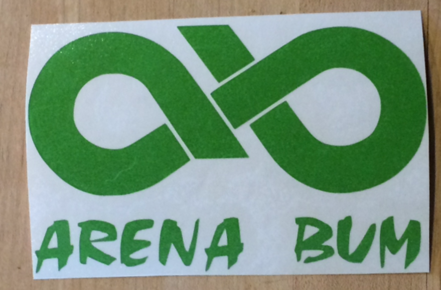 NEW ARENA BUM DECALS
